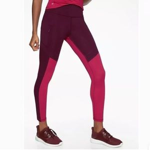 NWOT Athleta All In Structure 7/8 Tight